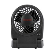 Honeywell Turbo Portable Folding Fan, Model #HTF090B, Black