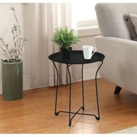 Mainstays Metal Tray Side Table, Multiple Colors