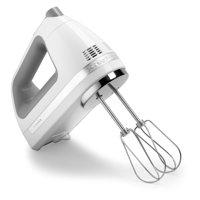 KitchenAid KHM7210WH 7 Speed Digital Hand Mixer - White