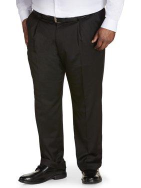 Canyon Ridge Big Men's Pleated Sateen Dress Pant, up to size 62