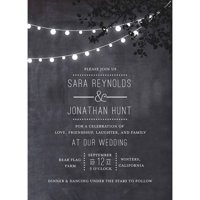 Wedding Glow Standard Wedding Invitation