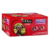 Ol' Roy Variety Pack Gourmet Food for Dogs, 12 Count