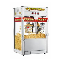 Great Northern TopStar Commercial Quality Bar Style Popcorn Popper Machine, 6208, 12 Ounce