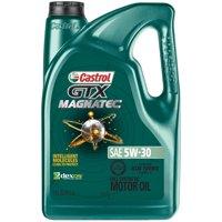 Castrol GTX MAGNATEC 5W-30 Full Synthetic Motor Oil, 5 QT