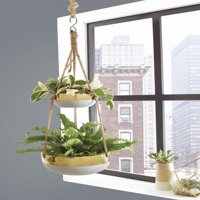 Better Homes and Gardens Faison Outdoor Double Hanging Planter