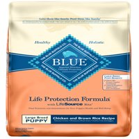 Blue Buffalo Life Protection Formula Large Breed Puppies Dry Dog Food, Chicken and Brown Rice Recipe, 30-lb