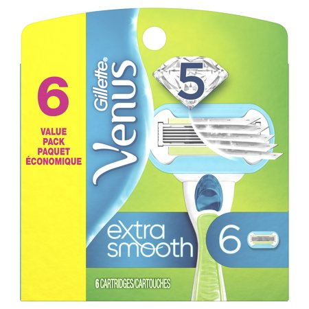 Gillette Venus Extra Smooth Women's Razor Blade - 6