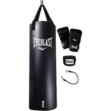 Heavy Bag Training (Everlast MMA Heavy Bag Training Kit )