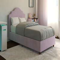 DHP Savannah Upholstered Bed, Multiple Sizes, Multiple Colors