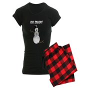 CafePress - OH SNAP! Snowman - Women's Dark Pajamas
