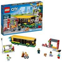 LEGO City Town Bus Station 60154 Building Set (337 Pieces)