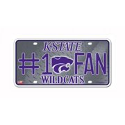 more photos fffef 94641 NCAA Kansas State Wildcats  1 Fan Metal Tag