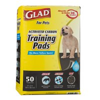 Glad for Pets, Activated Carbon Training Pads, 23 in x 23 in