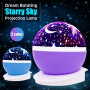 b16711f85a45 Solmore Star Projector Lamp Night Light 360 Degree Romantic Room Rotating  Cosmos Star Projuctor,Christmas