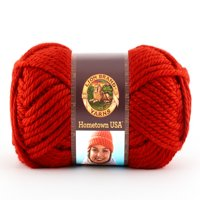Lion Brand Yarn Hometown USA Cincinnati Red 135-113 Classic Bulky Yarn