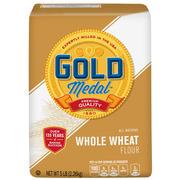 (2 Pack) Gold Medal Whole Wheat Flour, 5 lb Bag
