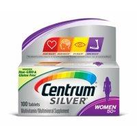 Centrum Silver Women 50+ Multivitamin Tablets, 100 ct