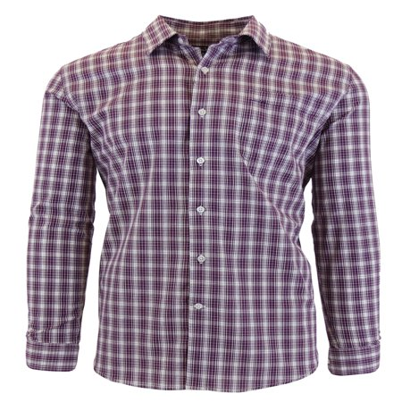 Long Sleeve Pocket Tee (Men's Long Sleeve Printed Dress Shirt With Chest Pocket )