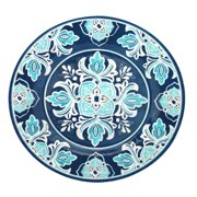 """Havana Family Style Platter, 16"""", Multicolor, Ship from USA,Brand Le Cadeaux"""