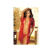 569abe47a9b Shirley of Hollywood Lace Robe 96046 Black