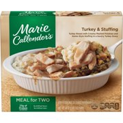 Marie Callender's Meal for Two Multi-Serve Frozen Dinner, Turkey & Stuffing, 24 Ounce