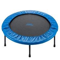 Upper Bounce 36-Inch Foldable Rebounder Trampoline, Blue