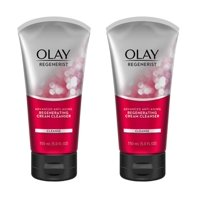 (2 Pack) Olay Regenerist Regenerating Cream Face Cleanser 5 fl oz