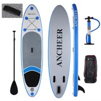 """Christmas Day Clearance&Sale!!! Hifashion 10' 6"""" Inflatable Stand Up Paddle Boards Sup w/ Adjustable Paddle Travel Backpack Pump Tower Bundle Adventurer Water Skiing"""