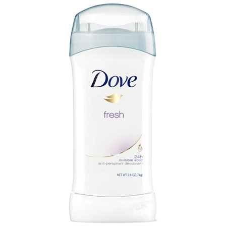 Dove Antiperspirant Deodorant Fresh 2.6 oz Deodorant Hypoallergenic Anti Perspirant
