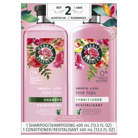 Herbal Essences Smooth Collection Shampoo and Conditioner Bundle (Shampoo And Conditioner To Get Curly Hair)