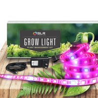 LED Grow Light by SLR Lighting Five 20 Inch Strips Kit for Plants Indoors, Outdoors, Gardens, Closets, Greenhouses, Vegetables, Herbs & Flowers with 250 Red & 50 Blue for Hydroponics and Horticulture