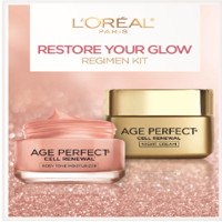 ($43.98 Value) L'Oreal Paris Skincare Age Perfect Regimen Kit, 3 Piece Set