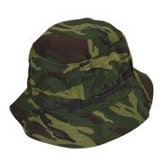 DALIX Forest Camouflage Washed Cotton Bucket Hat -Large 7 1/8 Size