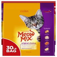 Meow Mix Original Dry Cat Food (Various Sizes)