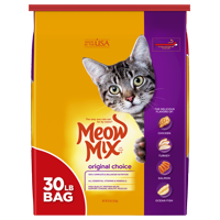 Meow Mix Original Choice Dry Cat Food, 30 lb