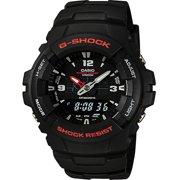 Casio Mens G-Shock Ana-Digi Black Resin Sports Watch