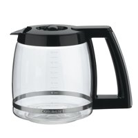 Cuisinart 14-Cup Glass Replacement Carafe with Black Trim