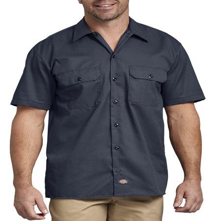 - Men's Short Sleeve Twill Work Shirt