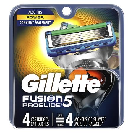 - Gillette Fusion5 ProGlide Men's Razor Blades (Choose Count)