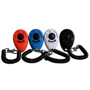 4-Pack Dog Training Clicker with Wrist Strap(New Upgrade Version)