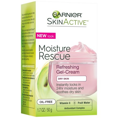 Garnier SkinActive Moisture Rescue Refreshing Gel-Cream for Dry Skin 1.7 oz. Box