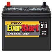 EverStart Maxx Lead Acid Automotive Battery, Group Size 51R