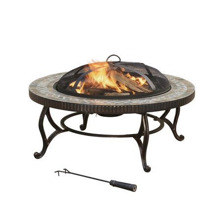 Basket Fire Pit (Pleasant Hearth OFW103RI 34