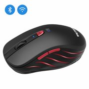 491ecd83561 VicTsing Bluetooth 4.0 Mouse 2.4G Wireless Portable Mobile Mouse with  12-Month Battery Life