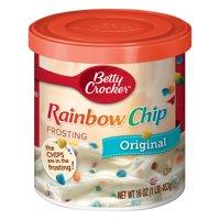 (4 Pack) Betty Crocker Original Rainbow Chip Frosting, 16 oz