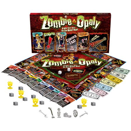 Late for the Sky Zombie-opoly - Sky Breeze Games Halloween