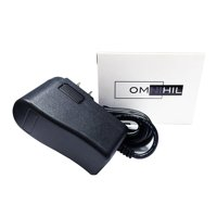 OMNIHIL AC/DC Adapter for Victrola Vintage 3-Speed Bluetooth Suitcase Turntable