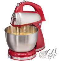 Hamilton Beach Classic Hand and Stand Mixer Red | Model# 64654
