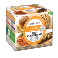 Nutrisystem Results 5 Day Weight Loss Kit, 4 Lbs, 20 Meals