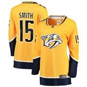 9fe77cc69f Craig Smith Nashville Predators Fanatics Branded Women's Breakaway Player  Jersey - Gold